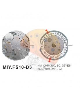 Movimiento Miyota FS10 cal.3