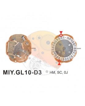 Movimiento Miyota GL10 cal.6