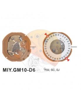 Movimiento Miyota GM10 cal.6