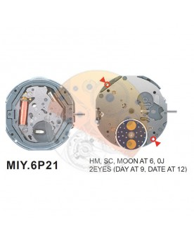Movimiento Miyota 6P21