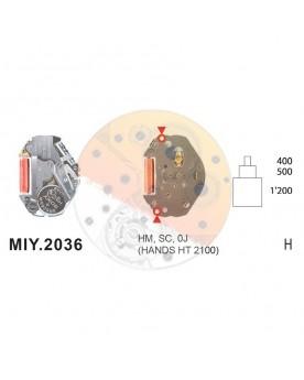 Movimiento Miyota 2036