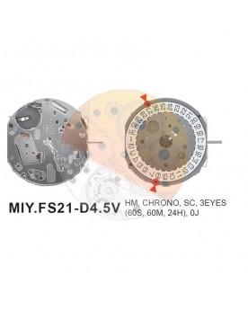 Movimiento Miyota FS21