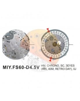 Movimiento Miyota FS60