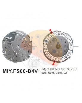 Movimiento Miyota FS00 Equivalente FS03