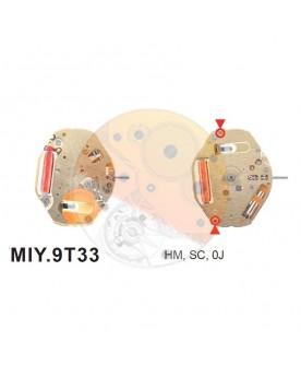 Movimiento Miyota 9T33