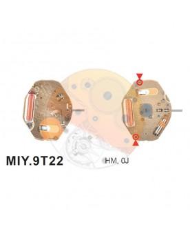 Movimiento Miyota 9T22