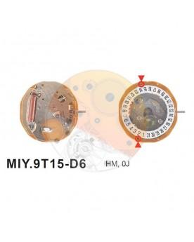 Movimiento Miyota 9T15 cal.6