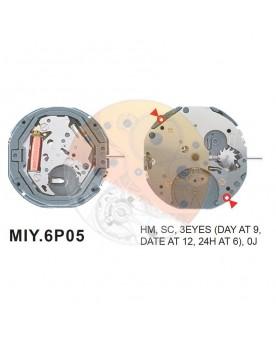 Movimiento Miyota 6P05