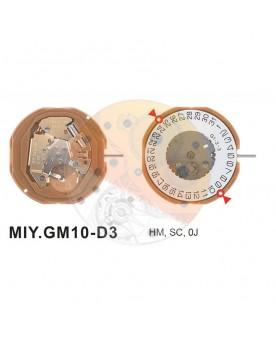Movimiento Miyota GM10 cal.3