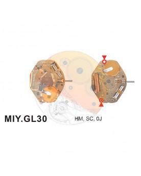Movimiento Miyota GL30
