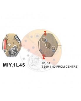 Movimiento Miyota 1L45