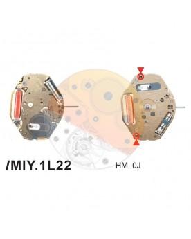 Movimiento Miyota 1L22 Equivalente GL20-GL22