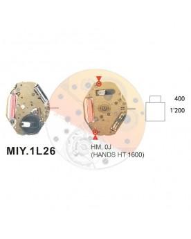 Movimiento Miyota 1L26