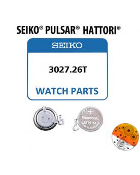 Acumulador Seiko 3027.26T