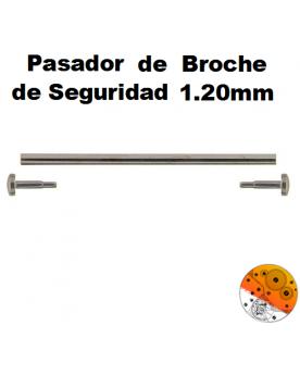 Pasador Broche Seguridad 1,20 mm.