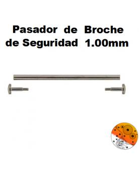 Pasador Broche Seguridad 1,00 mm.