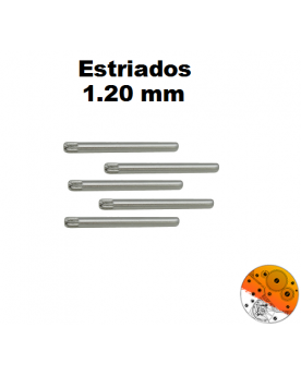 Pasador Estriado 1,20 mm.