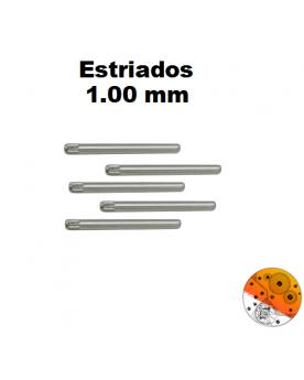 Pasador Estriado 1,00 mm