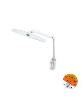 Lámpara 84 LEDs Luz Regulable Pinza Fijación
