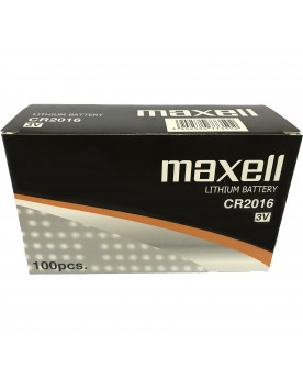 Caja 100 Uds. Maxell CR2016