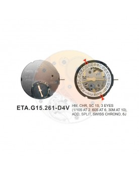 Movimiento ESA G15.261 cal.4