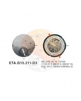 Movimiento ESA G15.211 cal.6