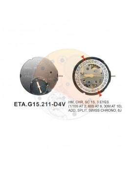 Movimiento ESA G15.211 cal.4