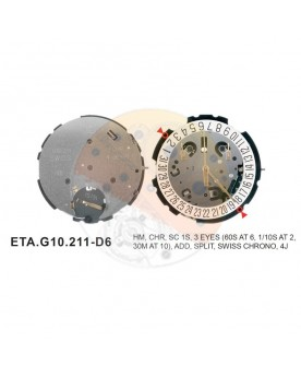 Movimiento ESA G10.212 cal.6