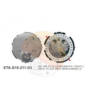 Movimiento ESA G10.212 cal.3
