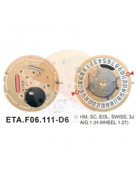 Movimiento ESA F06.111 cal.6