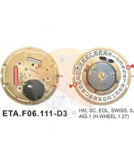 Movimiento ESA F06.111 cal.3