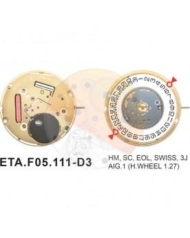 Movimiento ESA F05.111 cal.3