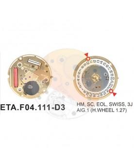 Movimiento ESA F04.111 cal.3