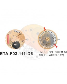 Movimiento ESA F03.111cal.6