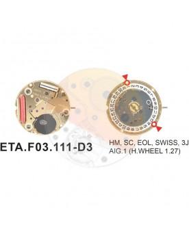 Movimiento ESA F03.111 cal.3