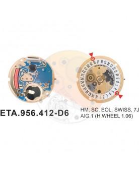 Movimiento ESA 956.412 cal.6