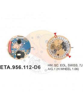Movimiento ESA 956.112 cal.6