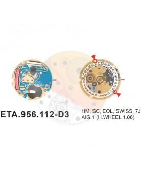 Movimiento ESA 956.112 cal.3