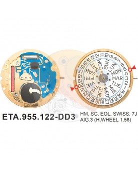 Movimiento ESA 955.122